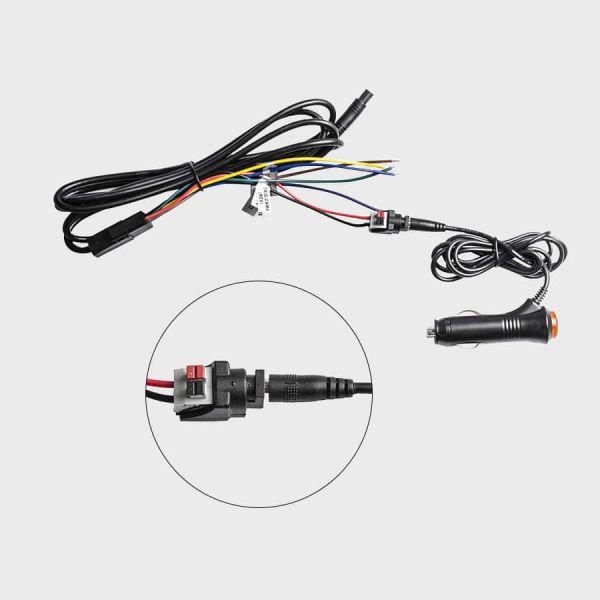 Haloview Cigarette Lighter Power Supply Adapter 1.4 Meters Cable