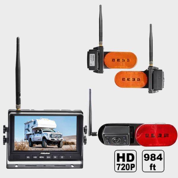Haloview MC7109R Plus 7 Inch 720P HD Digital Wireless Rear View Camera System