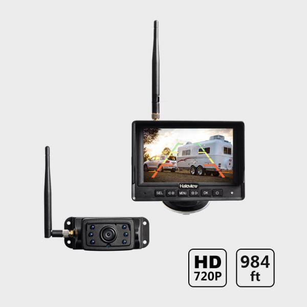 Haloview MC5111 5 Inch 720P HD Digital Wireless Rear View Camera DVR System