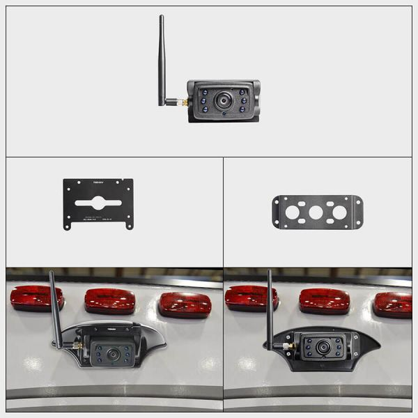 Haloview MC7109 MAX 7 Inch 720P HD Digital Wireless Rear View Camera System