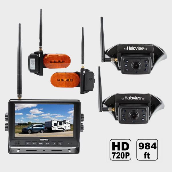 Haloview MC7109  Ultimate 7 Inch 720P HD Digital Wireless Rear View Camera System