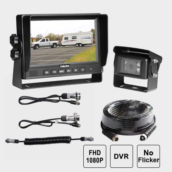 Haloview 1080P FHD 7 Inch Wired Rear View System MC7616