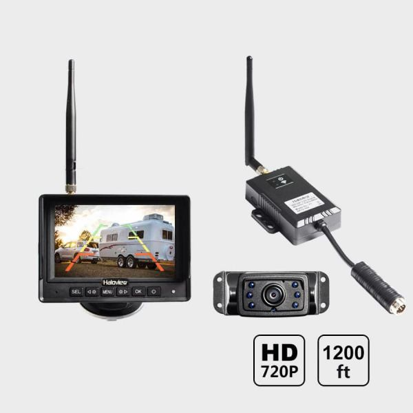 Haloview 5 Inch 720P Wireless Range Dominator System RD5 MINI