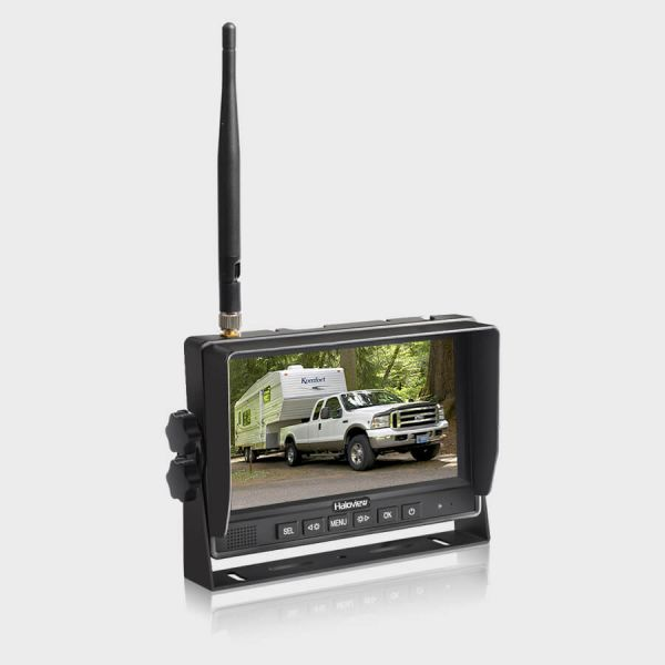 Haloview 7 inch 720P Wireless Range Dominator 4-Camera System RD7 Ultimate