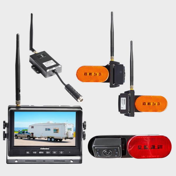 Haloview 7 inch 720P Wireless Range Dominator 3-Camera System RD7R Plus