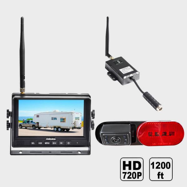 Haloview RD7R 7 Inch 720P HD Digital Wireless Rear View Camera System