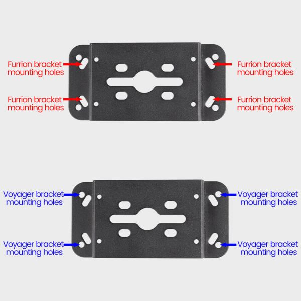 Haloview VF01 Backup Camera Bracket Adapter Compatible with Voyager/Furrion Pre-wired RVs