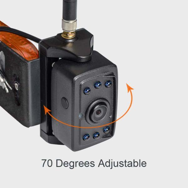 Haloview MC7109 MAX 7'' 720P HD Digital Wireless Rear View Camera System