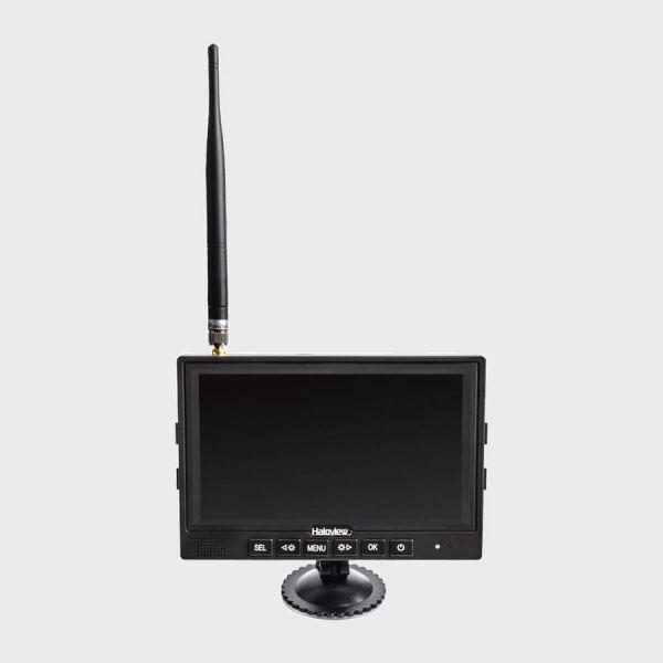 Haloview MC7108 Wiring-Free Wireless Camera Monitor System Portable Kit-Pro