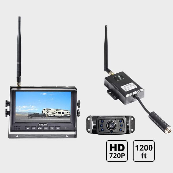 Haloview 7'' 720P Wireless Range Dominator System RD7 MINI