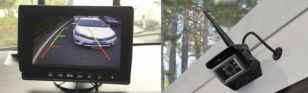 The Haloview Car and Truck Backup Cameras Systems