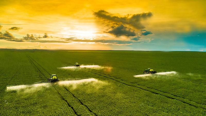 Crop Sprayer blind zone