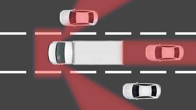truck blind spot solution