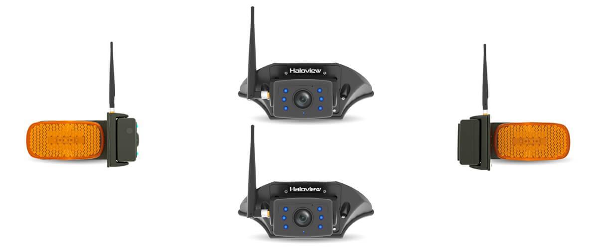 MC7109 four way wireless backup camera