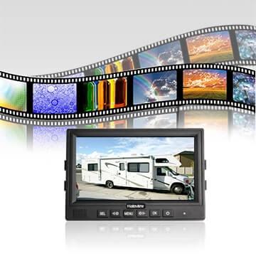 Monitor Seamless Loop 1080P Recording