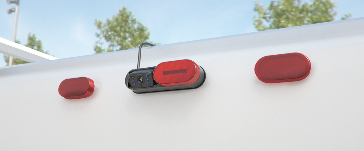 Haloview Wireless Rear Camera with Red Marker Light