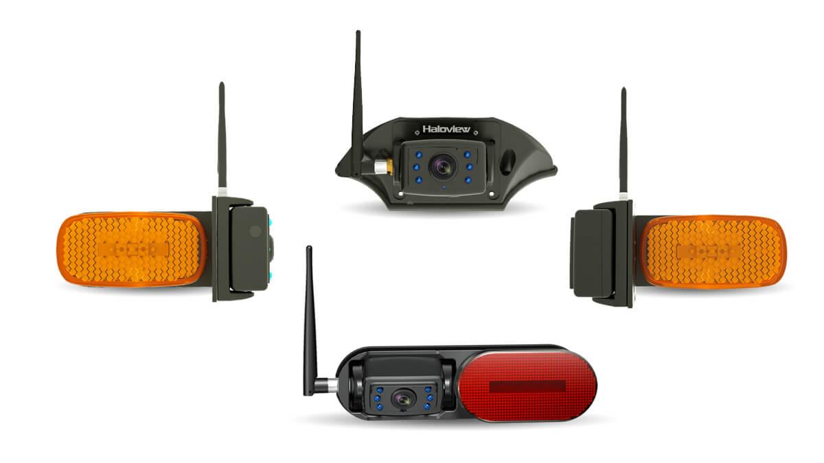 four way wireless backup camera