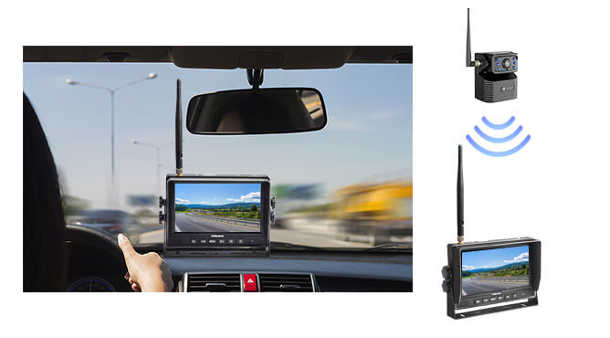 handy 7 hitch camera for trailer