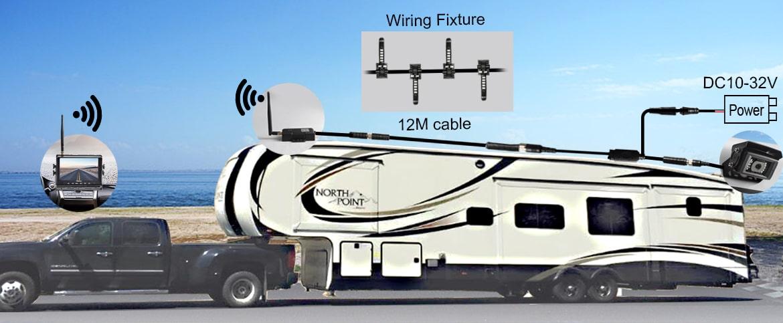 Haloview Wireless DVR Rear View Camera System Range Dominator
