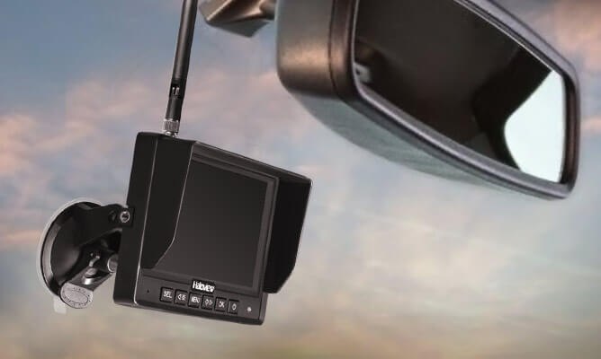 720p hd digital wireless monitor supports recording