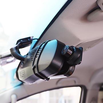mount the RD10 over existing rear mirror